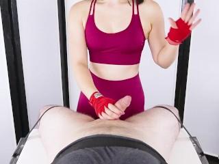 CRUEL BALLBUSTING & Cum Blocking with Post Orgasm Torture - Era