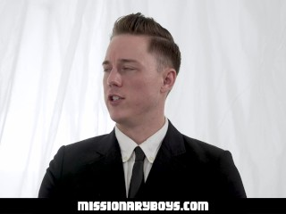 Hung Priest Fucks A Cute Twink Boy Bareback