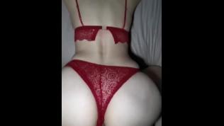 Milf fuck in sexy lingerie creampie cuminside 內射漂亮小姊姊