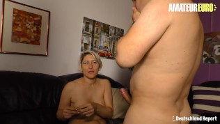 DeutschlandReport – Big Boobs PAWG Wife Pick Up For Some Fuck – AmateurEuro