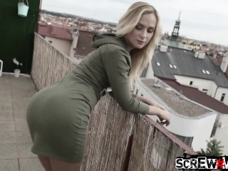 SCREWMETOO Blonde Russian Vinna Reed Fucks Nice Guy