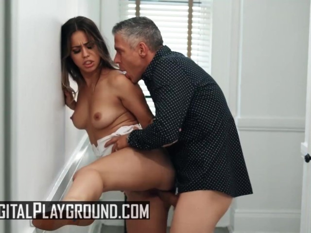 Digital Playground - Small Tit Alina Lopez Gets Pounded by Cock Till Facial
