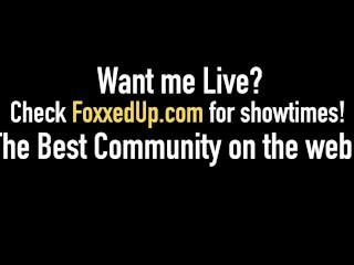 Hot Chocolate Chick Jenna Foxx & Boyfriend Fuck StepMom? Crazy Family!