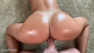 ppthedp – GF Oiled, Fucked, Deepthroat, & Squirting In My Apartment (4K)