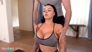 Trickery - Busty Payton Preslee Fucked Raw During Yoga Class