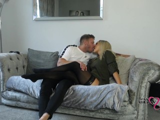 Sexy Hot British Blonde Milf Gets Fucked And Takes Huge Creampie 4K