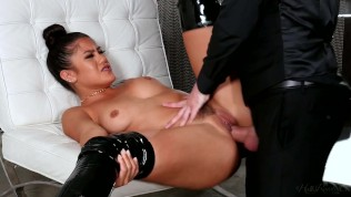 Kendra Spade's Discipline By Her Master With His Big Cock