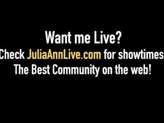 What? Hot Milfs Julia Ann, Cherie Deville & Aaliyah Love, Pussy Fuck & Cum!