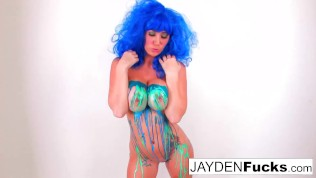 Jayden Jaymes Latex solo!