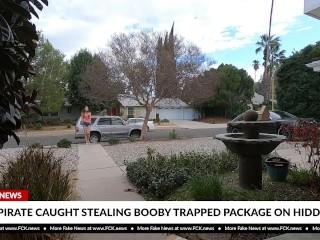 FCK News - Hot Teen Caught Stealing Package