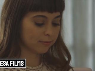 Bellesa - Small tit brunettes Abella Danger & Riley Reid eat pussy