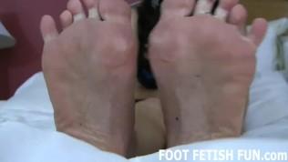 Feet Fetish And POV Foot Worshiping Porn
