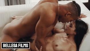 Bellesa – Skinny white girl Avi Love takes some by BBC