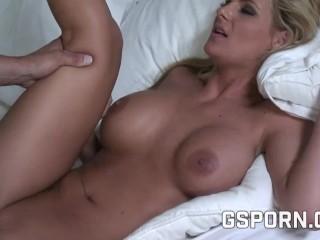 erotic blonde need banged very deep