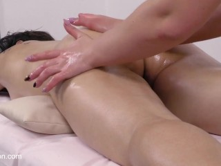 Russian first time pussy massage Roza