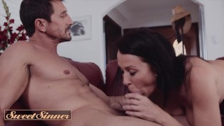 SweetSinner - dilf cheats on his wife with big tit milf