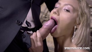PRIVATE com - Hot Latina, Veronica Leal Gets Her Face Fucked