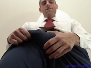 billy boston gets his ass licked by sexy eliza eves before he rams her