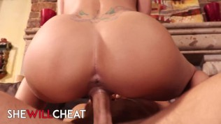 She Will Cheat - Busty brunette Jessa Rhodes cucks her beta husband while