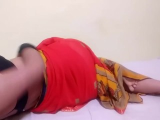 Desi/indian and boobs saree play
