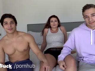 3some/latina/jock boy and jayden swaps