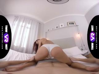 TmwVRnet -Paula Shy- Wild POV ride on a hard cock