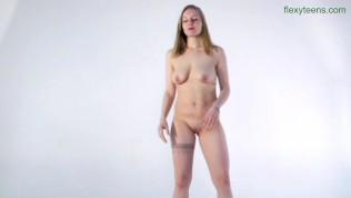 Hot and sensual flexible girl