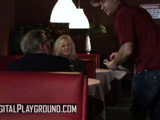 Digital Playground - Busty pigtail blonde Jesse Jane fucks the pizza man