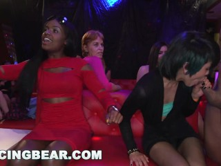DANCINGBEAR – Male Strippers Slinging Dick At CFNM Party