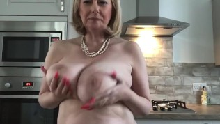 Annabel's Friday afternoon fruity sticky big tit play