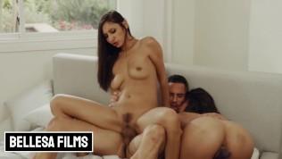 Bellesa - Latina threesome fantasy with Gianna Dior & Autumn Falls