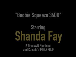 Big Titty Fucked Housewife Shanda Fay Looks Like A Crazy Cum Doll!