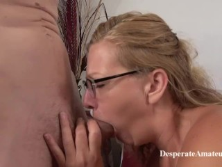 Casting Beautiful Mother Shan Desperate Amateursshan Is A Nervous 49 Year O