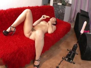 best porn machine of pamela sanchez