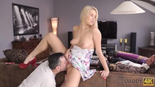daddy4k. real dad wants to fuck angel dream nikki while her boyfriend