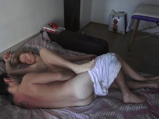 Real insemination of a milf ! keep fucking that creamy pussy