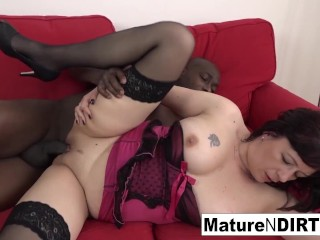 Mature Is Anally Addicted To Bbc