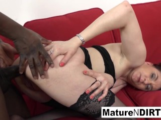 Brunette Gets The Bbc To Cum On Her Face