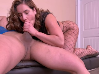 Horny amateur MILF with gorgeous ass gets her tight pussy slayed by stud