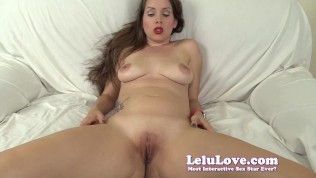 She begs you to fuck her ass and creampie her cunt - lelu love
