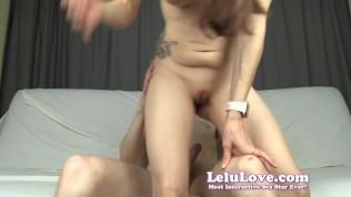Giantess uses YOU 4 BirthControl during creampie with bloopers – Lelu Love