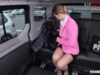 Fucked In Traffic - Kinky Car Sex With Gives Sexy MILF Multiple Orgasms