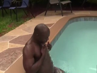 Black Muscle Top Breeds Slutty White Muscle Daddy