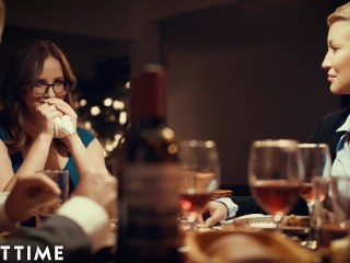 Suburban Wife Jay Taylor Can't Take Eyes Off Angela White - TRUE LESBIAN
