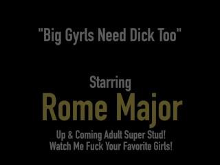 Horny BBC Rome Major Dark Dicks Thick Black BBW Mizz Luvli Black!