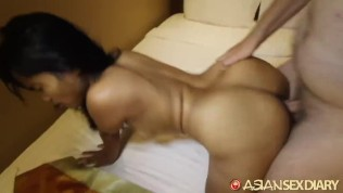 Asian Sex Diary XXX  ASIANSEXDIARY Asian MILF Creams On Younger Foreign Dick