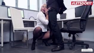 Bums Buero - Big Boobs Lilli Vanilli Gets Some Office Fucking - LETSDOEIT