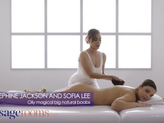 Massage Rooms big natural boobs lesbians josephine jackson and sofia lee