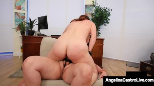 Thick Medical Muff Angelina Castro Heals Big Maggie Green With Big Cock!