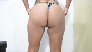 trying on the sexiest panties and thongs, cindy hot star